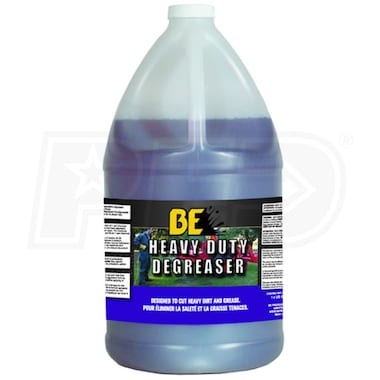 BE Semi-Pro Heavy Duty Degreaser Pressure Washer Detergent Concentrate (1 Gallon)