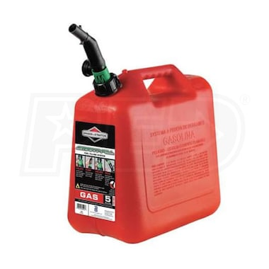 5 Gallon Plastic Spill Proof Gas Can