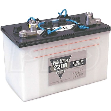 PHCC Pro Series B-2200 Standby Battery