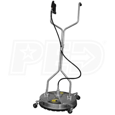 "BE Whirl-A-Way 85.403.010 Professional 24"" Stainless Steel Surface Cleaner (4000 PSI 185°F)"