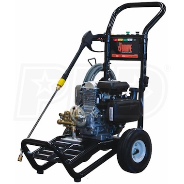 Brave 3000 PSI (Gas - Cold Water) Pressure Washer w/ Honda Engine