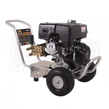 Mi-T-M Professional 4000 PSI (Gas- Cold Water) Aluminum Frame Pressure Washer w/ Honda Engine