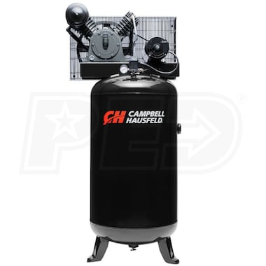 Campbell Hausfeld 5-HP 80-Gallon Two-Stage Air Compressor (208/230V 3-Phase)
