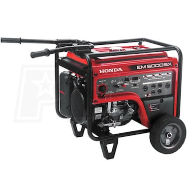 Honda EM5000 - 4500 Watt Electric Start Portable Generator