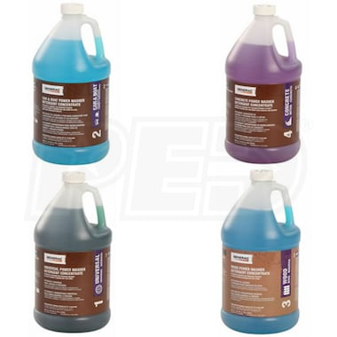 Generac Pressure Washer Concentrated Detergent Bundle Kit (4 Gallons)