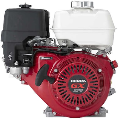 "Honda GX270™ 270cc OHV 2:1 Gear Reduction (Clutch) Horizontal Engine, Oil Alert,  22mm x 2-3/32"" Crankshaft"