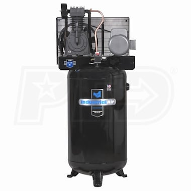 Industrial Air 5-HP 80-Gallon Two-Stage Air Compressor (230V 1-Phase)