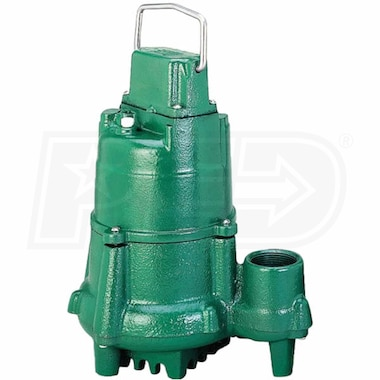 Zoeller N98 - 1/2 HP Cast Iron Submersible Sump Pump (Non-Automatic) (25' Cord)