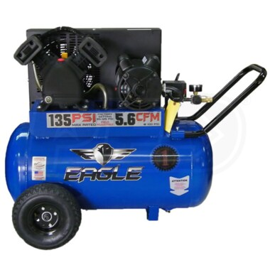 Eagle 3-HP 20-Gallon (Belt Drive) Cast-Iron Air Compressor