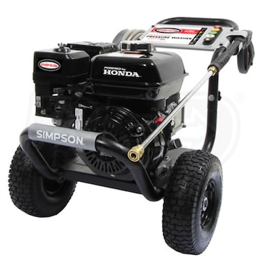 Simpson PowerShot Professional 3200 PSI (Gas-Cold Water) Pressure Washer w/ Honda Engine