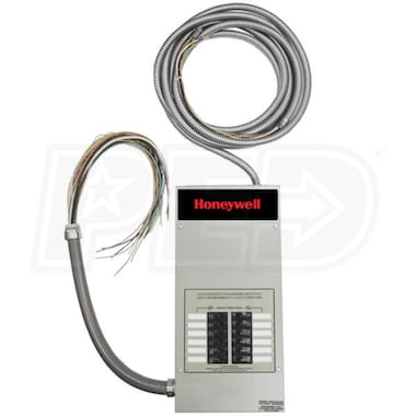 Honeywell™ 50-Amp Pre-Wired Indoor Automatic Transfer Switch w/ 12-Circuit Load Center