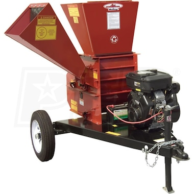 "Merry Mac (4"") 18-HP Tow-Behind Chipper Shredder w/ Electric Start"