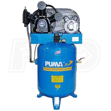 Puma 3-HP 40-Gallon Two-Stage Air Compressor (208/230V 1-Phase)