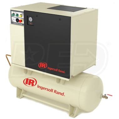 Ingersoll Rand 5-HP 80-Gallon Rotary Screw Total Air System (230V 3-Phase) (150PSI)