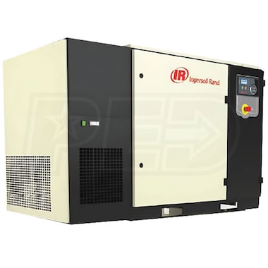 Ingersoll Rand 30-HP Tankless Total Air Rotary Compressor (230V 3-Phase 125 PSI) w/ Dryer