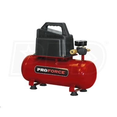 Pro-Force 2-Gallon Hot Dog Air Compressor w/ Inflation Kit