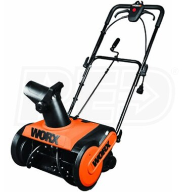 "Worx (18"") 13-Amp Electric Snow Blower"