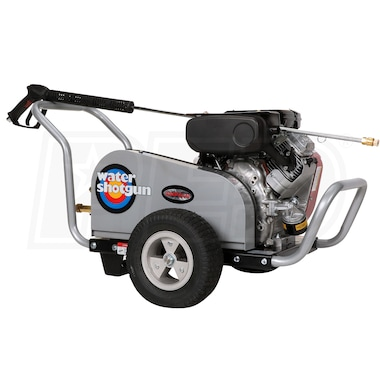 Simpson WaterShotgun Professional 4000 PSI (Gas-Cold Water) Pressure Washer w/ Electric Start