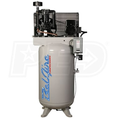 BelAire Elite Series 7.5-HP 80-Gallon Two-Stage Air Compressor (208-230V 3-Phase)