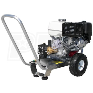 Pressure-Pro Eagle Professional 3200 PSI (Gas-Cold Water) Aluminum Frame Pressure Washer w/ Honda Engine