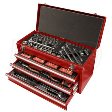 Speedway 3 Drawer Tool Chest With 118 Piece Tool Kit