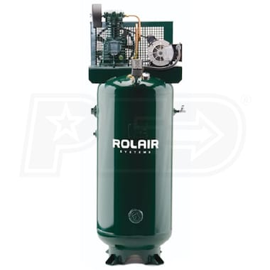 Rolair 3-HP 60-Gallon Single-Stage Air Compressor