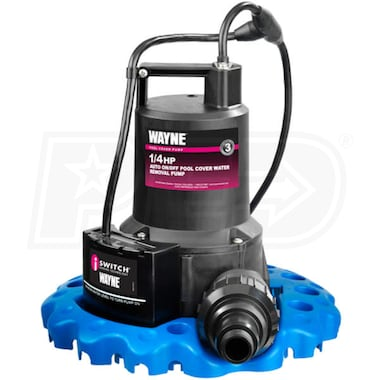 Wayne WAPC250 - 50 GPM 1/4 HP Automatic iSwitch® Pool Cover Pump