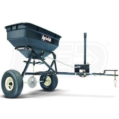 Agri-Fab 100 LB. Tow Behind Broadcast Spreader