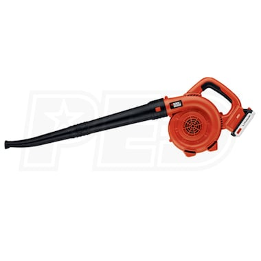 Black & Decker 20-Volt Lithium-Ion Cordless Leaf Sweeper