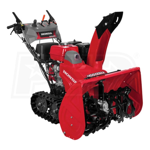 "Honda Supercharger For Sale: Honda (32"") 389cc Two-Stage Track Drive Snow Blower W/ 12"