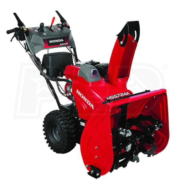 "Honda Supercharger For Sale: Honda HSS724A (24"") 196cc Two-Stage Snow Blower W/ 12-Volt"